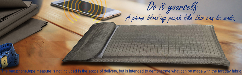 Do it yourself cellphone blocking case