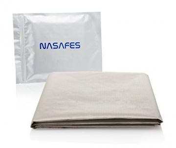 Emf Protection Fabric - BIG Size - 36.2 X 42.4 inches - Magnetic Shielding - Block Wifi - EMF Fabric - RFID - Anti Radiation - Conductive Fabric - Copper and Nickle - Very Thin 0.03 inches - 1