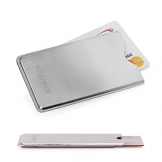 Metal Credit Card Holder - Handmade - Ultra Thin 0.15 inch - RFID Credit Card Protector - Stainless Steel Credit Card Holder - Credit Card Protector Sleeve - 1
