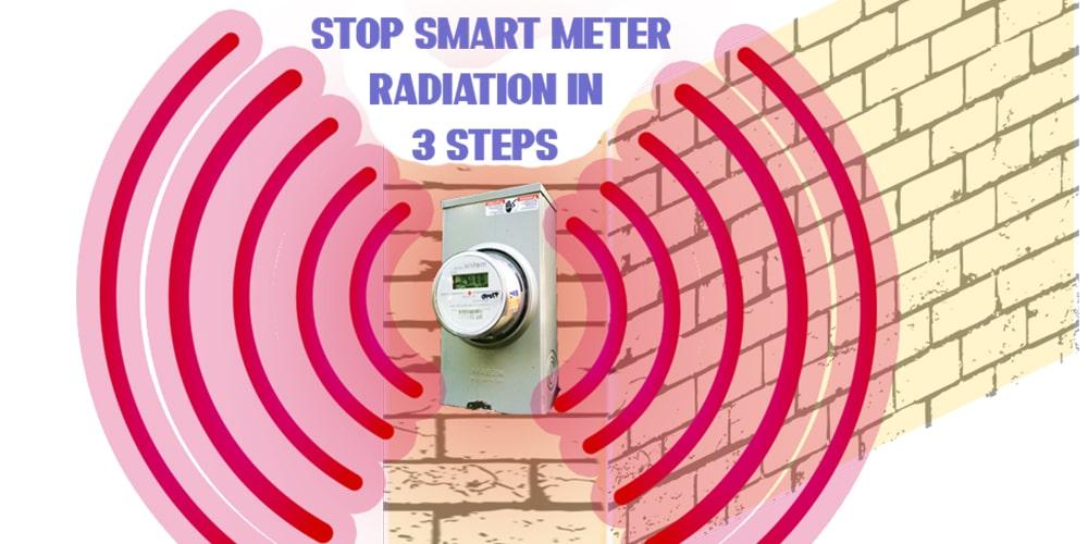 stop smart meter radiation
