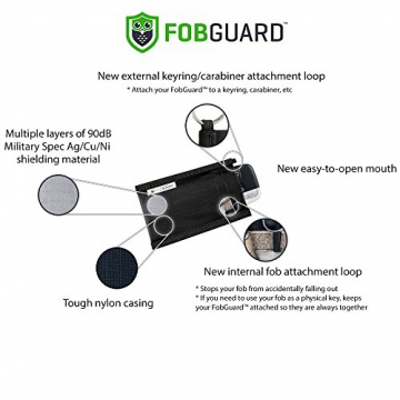 FobGuard - Ideal Faraday Cage to Protect Car Keyless Entry Fobs -