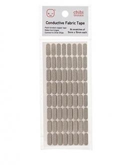 Chibitronics Conductive Fabric Tape Patches - 1
