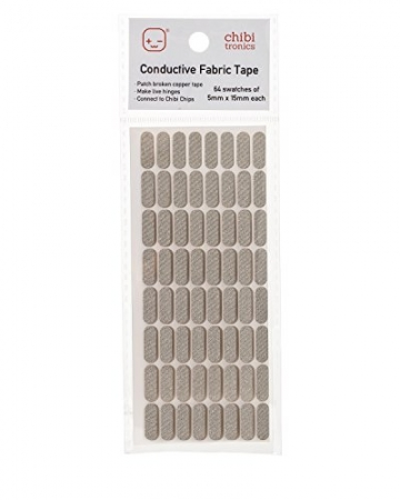 Chibitronics Conductive Fabric Tape Patches - 1