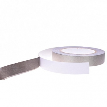 Conductive Cloth Fabric Adhesive Tape for LCD Laptop Cable Shielding Tape,2Rolls 5mm x 20M 65ft - 2