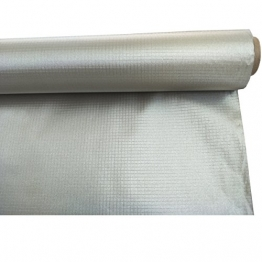 "Conductive Earthing Copper Nickel Fabric for Smart Meter RF Blocking Plaid Ripstop Type 43""x39"" - 1"