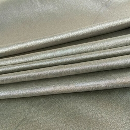 """Conductive Silver Electricity RF Shielding Anti-radiation Fabric Elastic and Knitting Cloth 20""""x59"""" - 1"""