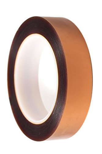 "Double Sided Polyimide Tape by ITSTECH, 3/4"" x Wide Yards Long, 1 Mil Thick on a 3"" Core - 1"