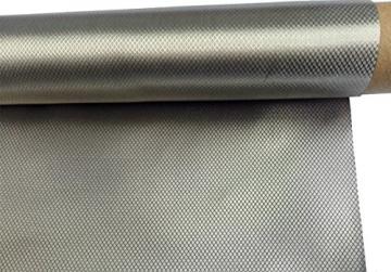 """Earthing Grounding Anti-radiation EMF RF Shielding Fabric Conductive Electrode Ni+Cu 39""""x43"""" - 1"""