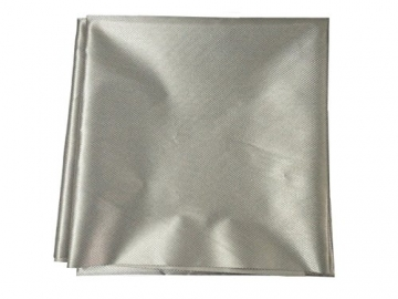 """Earthing Grounding Conductive Silver Fabric Electromagnetic Shielding RF Ripstop 20""""x59"""" - 1"""