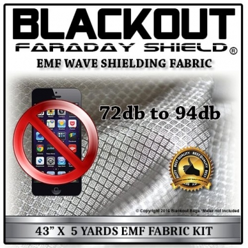 EMF RF RFID Cell Block Wave Shielding Fabric 43