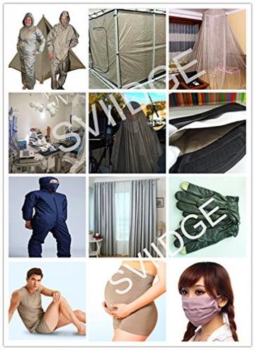 EMF/RFID/EMI/RF Blocking Radiowave/Microwave Shielding Fabric Faraday Earthing/Grounding 20