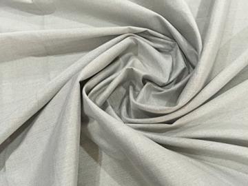 JWtextec 48%Silver Fiber Conductive Fabric Anti Radiation Fabric (57x39.37 Inches(1.45mX1m)) - 2