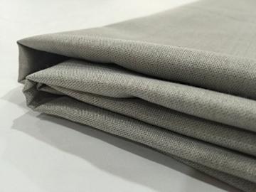 JWtextec 48%Silver Fiber Conductive Fabric Anti Radiation Fabric (57x39.37 Inches(1.45mX1m)) - 1
