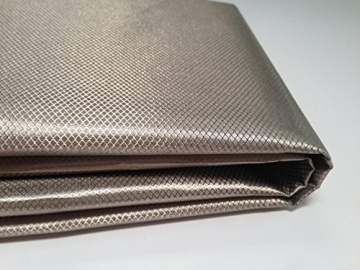 "OurSure RFID Blocking, RF Radiation Blocking, WIFI Blocking Nickel-Copper Polyester Fabric 24"" x 21"" - 1"