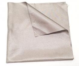 """OurSure Silver Conductive Fabrics -Size: 12""""x13"""" - 1"""