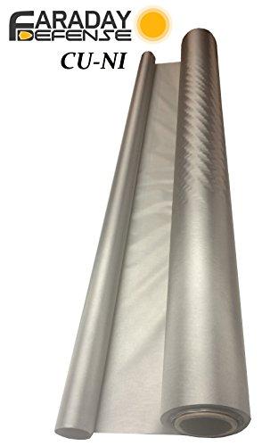 RF RFID EMF Shielding Nickel Copper Fabric 50