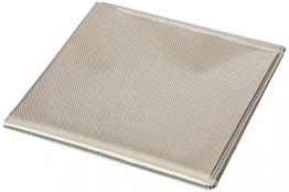 RFID Blocking Faraday Shielded Fabric: Radiation WIFI & RF Shielding: 40x40 Nickel & Copper EMF Identity Theft Blocker for your Wallet Phone or Laptop - 1