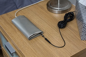 RFID Blocking Faraday Shielded Fabric: Radiation WIFI & RF Shielding: 40x40 Nickel & Copper EMF Identity Theft Blocker for your Wallet Phone or Laptop - 4