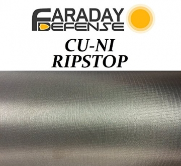 RFID Shielding Nickel Copper Rip-Stop Fabric Roll 50