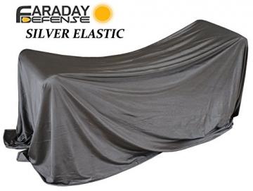 RFID Shielding Silver Fabric Roll 64