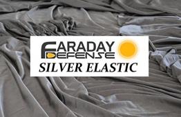 "RFID Shielding Silver Fabric Roll 64"" x 1 Ft. - Premium Grade EMF Signal Blocking Material - 1"