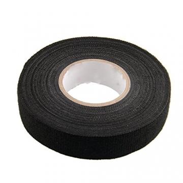 Sedeta black fabric cloth tape silver conductive fabric cloth tape fabric blinds with cloth tape cloth fabric tape adhesive cloth fabric tape PET fleece - 2