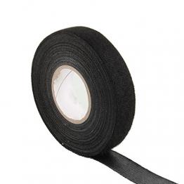 Sedeta black fabric cloth tape silver conductive fabric cloth tape fabric blinds with cloth tape cloth fabric tape adhesive cloth fabric tape PET fleece - 1