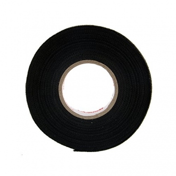 Sedeta black fabric cloth tape silver conductive fabric cloth tape fabric blinds with cloth tape cloth fabric tape adhesive cloth fabric tape PET fleece - 4
