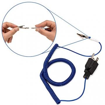 Grounding Cord, Ground Cable, Grounding Wire, Ground Wire, Grounding Strap,  Ground Strap, Grounding Cable, ESD, Grounding Bracelet, Anti Static Wrist
